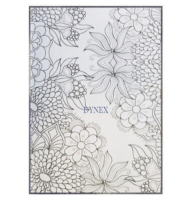 Creative Therapy - Adults Adult Colouring Book A4 - Anti-Stress + 20 Felt Tips 7