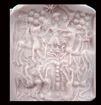 Bactrian copper barrel-shaped bead seal, Circa 2nd Millennium B.C.  x9202 7