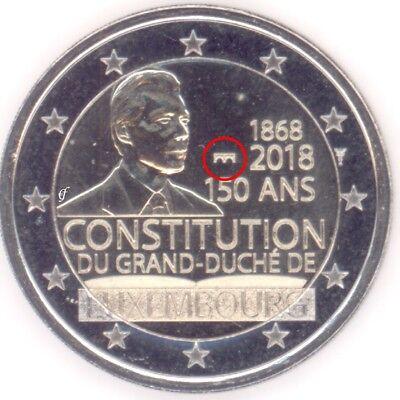 Luxemburg alle 2 Euro Gedenkmünzen / Sondermünzen - alle Jahre wählen - Neu 2