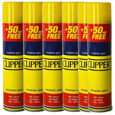 Clipper Universal High Quality Butane Gas Lighter Refill Fluid 250+50ml Fuel 3
