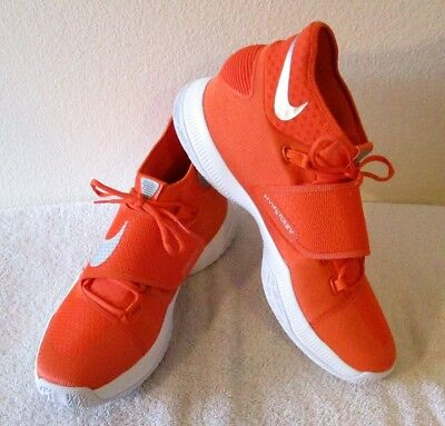the latest 8c1ec c017c ... NEW Nike Zoom Hyperrev 2016 TB Mens Basketball Shoes 16.5 Orange Silver  MSRP 120 3