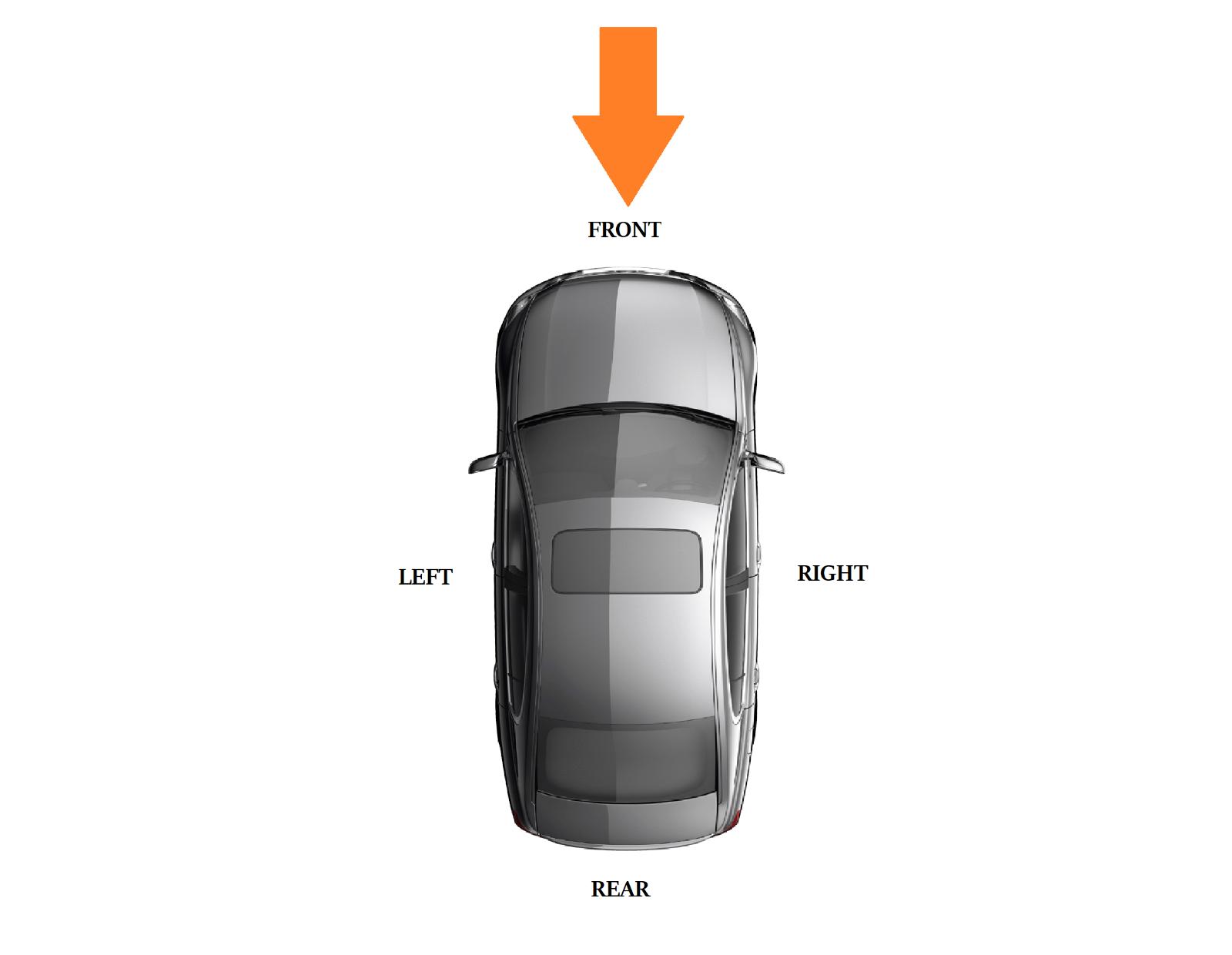 NUOVO Originale Mercedes MB CLK W209 AVANTGARDE Paraurti Anteriore Chrome Trim Sinistro N//S