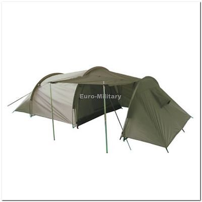 Storage Space Professional Army Outdoor Camping 3 Men Tent New OD Green