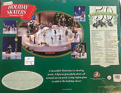 ... Mr Christmas Holiday Skater- Replacement Parts-Motor Repair Kit 4