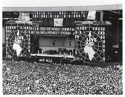 Freddie Mercury Photo Live Aid 1985 Elite Queen Unique Image Unreleased 12 Inchs 4