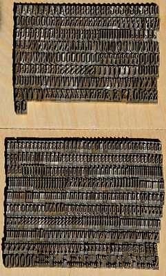 9 mm Prägeschrift Messingschrift Buchbinder Messing Vergoldepresse Buchbinden 2