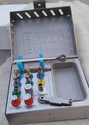 Dental Bone Expander / Compression Screws Sinus Universal Implant Surgical Kit 9 3