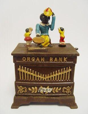 Spardose Organ Bank Weihnacht Geschenk Vintage Deko Spielzeug Sammeln & Seltenes