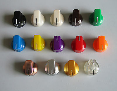 10x Gold pointer knobs Davies 1510 style for guitar pedals