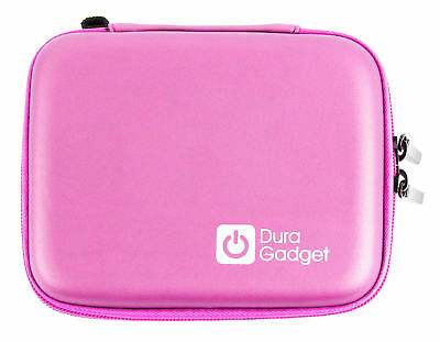 DURAGADGET Sturdy Rose Gold Camera Case with Soft Fleece Lining Compatible with Nikon Coolpix L27