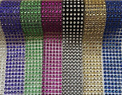 Crafts Bling Ribbon Sparkly Sugarcraft Cake Decorating Card Craft Mesh Silver Diamante