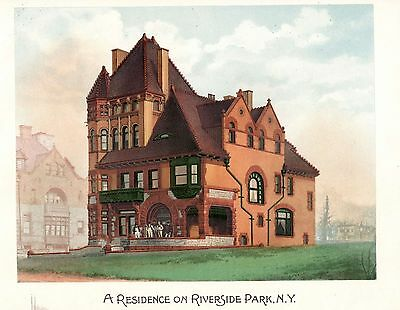 Riverside Park, N. Y. -Scientific American Architects and Builders Edition -1891 2