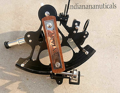 Antique Sextant~Astronomical Ship Instrument~Navegational Sextant~Marine Gifts 8