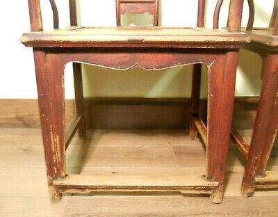 Antique Chinese Ming Arm Chairs (5730) (Pair), Circa 1800-1849 5