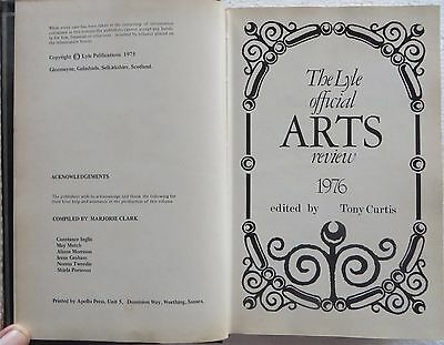 Vtg Book The LYLE official ARTS review 1976 by TONY CURTIS price guide Antique 5 • CAD $18.81