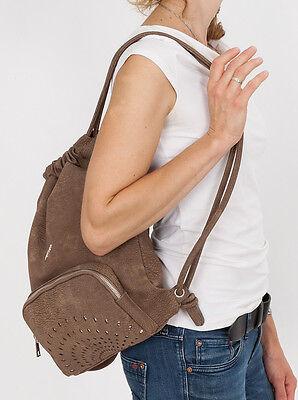 f7421113bf1ae ... Beutel ELEPHANT GLAM SHINE Damen Rucksack Handtasche Damenrucksack  Kunstleder WA 10