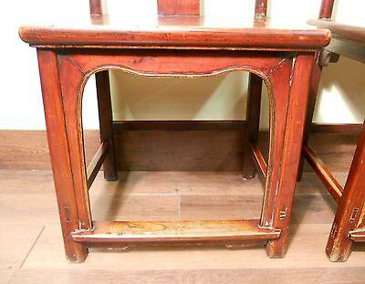 Antique Chinese High Back Chairs (Pair) (5495), Circa 1800-1849 4
