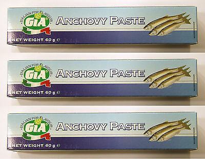 3x GIA Anchovy Paste from Italy 2