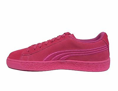 PUMA JUNIOR GIRLS' SUEDE CLASSIC BADGE JR Shoes Shocking