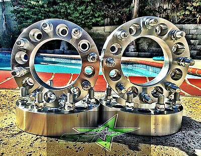 3500 Dually2 inch HEAVY DUTY 2X 8 Lug Wheel Spacers 1994-2010 Dodge Ram 2500