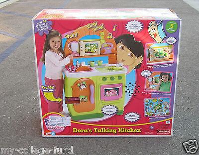 Spielzeug Fisher Price Dora The Explorer Fiesta Favorites Bilingual Talking Kitchen New Gamersjo Com