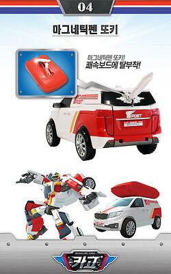 Tobot Cargo Adventure Transformer Robot Car Toy Surfboard Kia Sedona