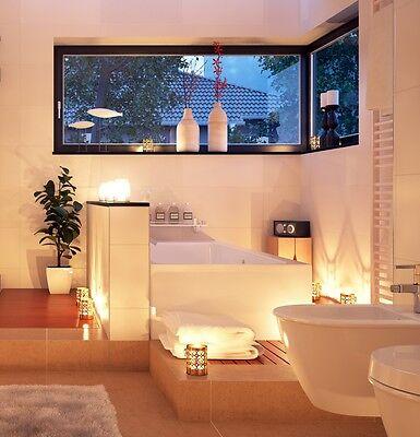 Badezimmer Mit Eckwanne luxus badewanne mit kopfstützen acryl eckbadewanne led wanne für