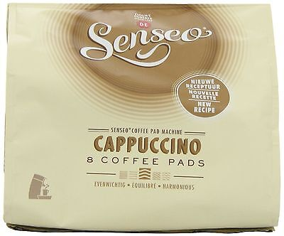 Douwe Egberts Senseo Cappuccino Coffee (Pack of 8, Total 64 Pods) New Design 2