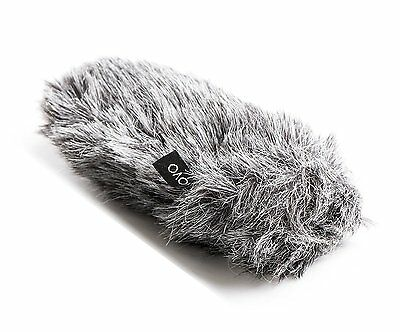 Movo WS-G8 Furry Outdoor Microphone Windscreen Muff Fit for Rode VideoMic Pro 3