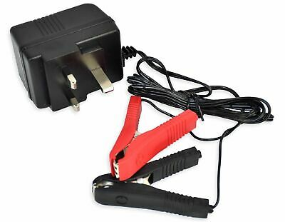 Vinsani Plug in Trickle Battery Charger 12v 500mA 2