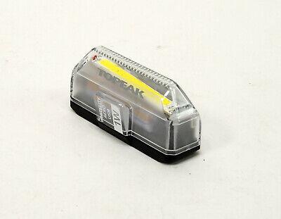 TOPEAK WhiteLite Aero USB 1W LED Front Bicycle Light 110 Lumen