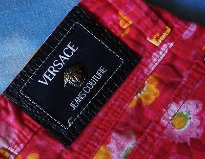 TROUSERS vintage VERSACE Jeans Couture made in Italy TG 30-44 circa S/M 7