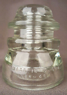 Clear Insulator-Hemingray 17, 33-50-Telegraph-Telephone-USA-Antique Vintage 2