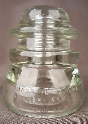 Clear Insulator-Hemingray 17, 33-50-Telegraph-Telephone-USA-Antique Vintage 2