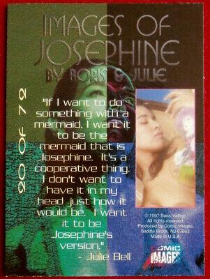 IMAGES OF JOSEPHINE - Individual Card #20 - Comic Images - Fantasy Art - 1997 2