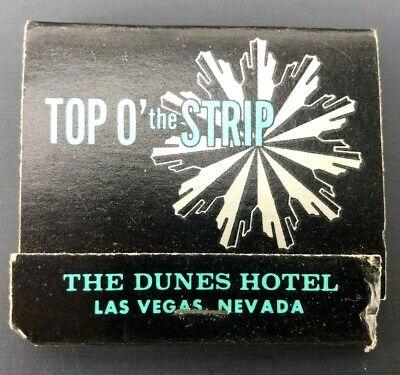 Vintage Matchbook The Dunes Hotel & Country Club Las Vegas Nevada Advertising 3