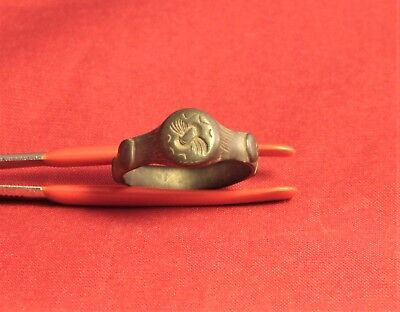 Fine Ancient Celtic Finger Ring - Rare! 4