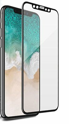For Apple iPhone X XS Full Coverage Soft Edge 9H Tempered Glass Screen Protector 9