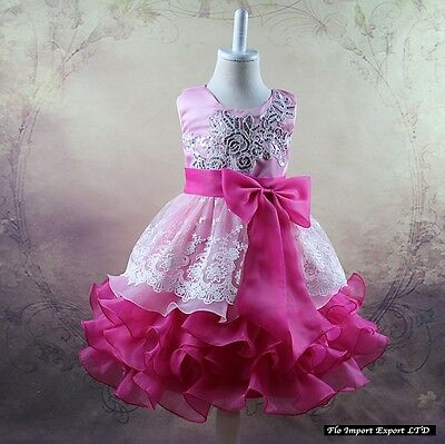 ... Vestito Bambina Abito Cerimonia Elegante Girl Party Princess Dress  CDR056 4 31d6135ebec
