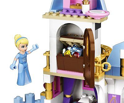 Lego Disney Princess 41055 CINDERELLA'S ROMANTIC CASTLE clock Prince NEW NISB 4