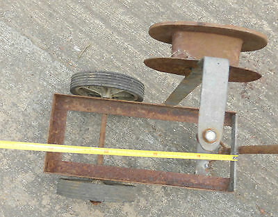 alter Waagen Wagen Handwagen Bastler antik Blitz Schlauchwagen ?? 10