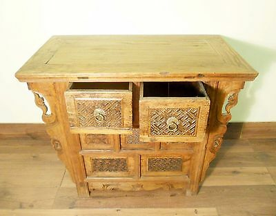 "Antique Chinese ""Butterfly"" Coffer (5719), Circa 1800-1849 2"