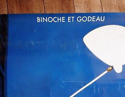 Original LE REGARD D'ALAN Poster 1991 French Modernist Design Serge MOUILLE RARE 7