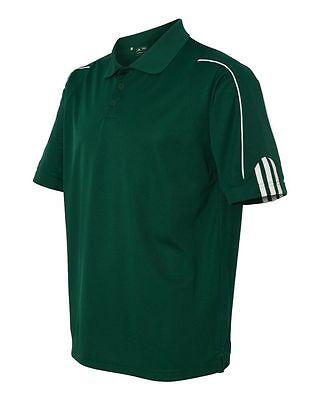 ADIDAS GOLF NEW Climalite Men's Size S-3XL Three Stripes Polo Sport Shirt, A76 8