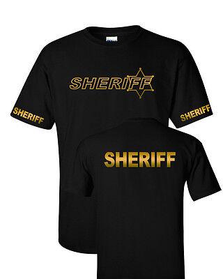 Sheriff-Police-Deputy Sheriff - K9 unit - Law Enforcement  T-shirts Gildan S-5XL