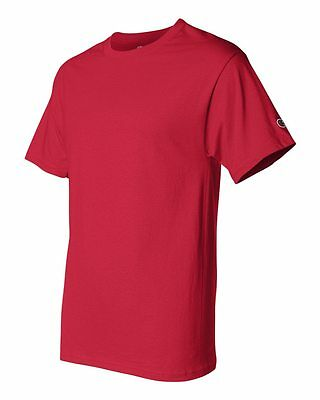 Champion Men's New Short Sleeve 100% Cotton Tagless T-Shirt S-2Xl 3Xl T525 5