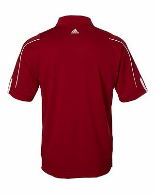 ADIDAS GOLF NEW Climalite Men's Size S-3XL Three Stripes Polo Sport Shirt, A76 12