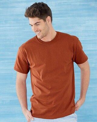 6 BLACK GILDAN T-Shirts DryBlend Heavyweight S M L XL 2XL 3XL 4XL 5XL BULK LOT