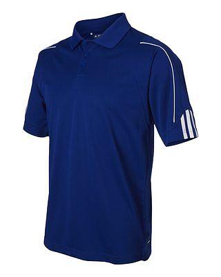 ADIDAS GOLF NEW Climalite Men's Size S-3XL Three Stripes Polo Sport Shirt, A76 6