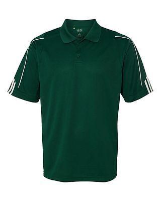 ADIDAS GOLF NEW Climalite Men's Size S-3XL Three Stripes Polo Sport Shirt, A76 11
